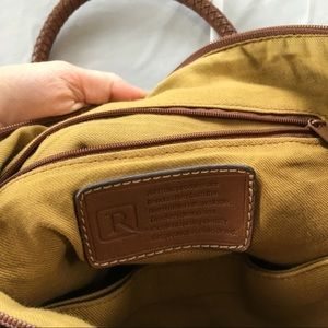 Relic Bags - Relic Brown 3 Compartment Handbag